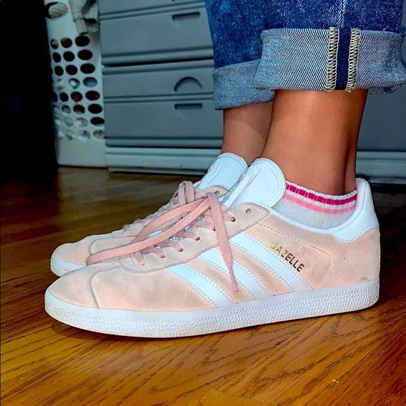 adidas Shoes | Light Pink Adidas Superstars Gazelle | Poshmark